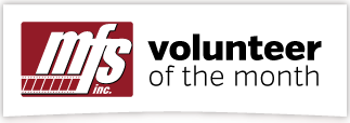 Volunteer of Month Icon